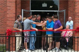 Youth Building Dedication